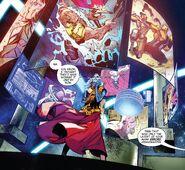Grandmaster's Cosmic Game Room from Avengers Vol 1 678 001