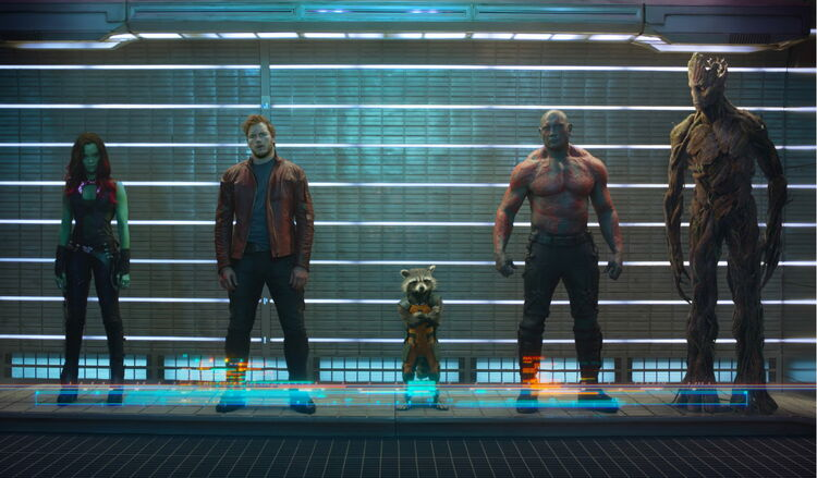Guardians of the Galaxy (Earth-199999) from Guardians of the Galaxy (film) 001