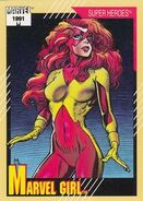 Jean Grey (Earth-616) from Marvel Universe Cards Series II 0001