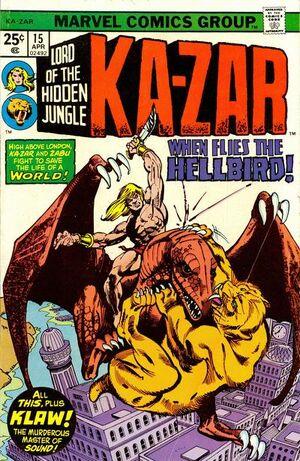 Ka-Zar Vol 2 15
