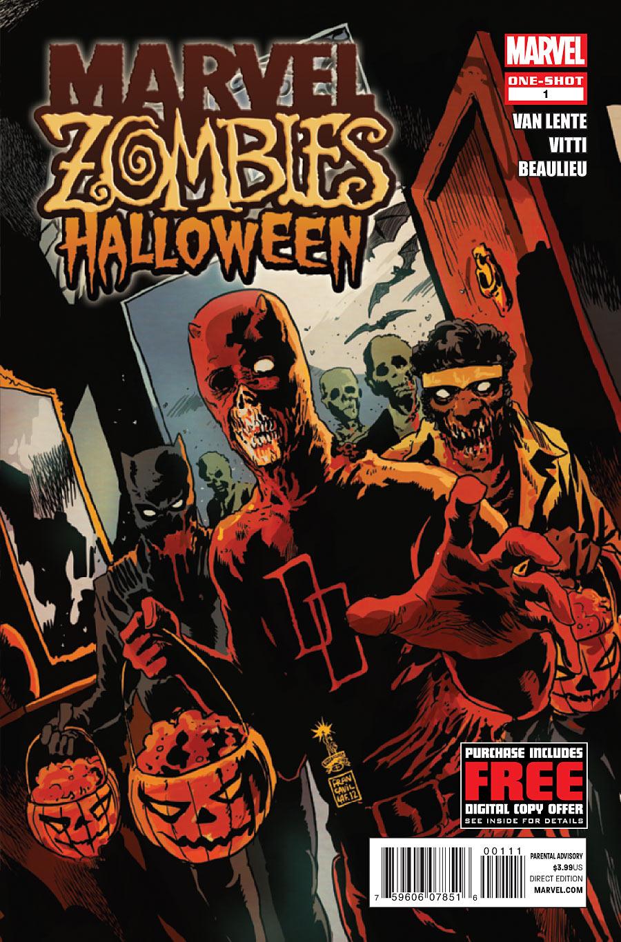 Marvel Zombies Halloween Vol 1 1 | Marvel Database | FANDOM ...