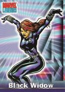 Natalia Romanova (Earth-616) from Marvel Legends (Trading Cards) 0001
