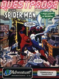 Questprobe Spider-Man box cover