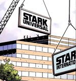 Stark Universal (Earth-11029) from What If Iron Man Demon in an Armor Vol 1 1
