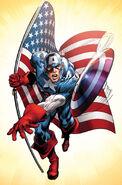 Captain America Vol 6 1 Textless Neal Adams Variant