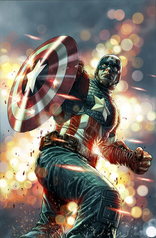 Captain America Vol 7 16.NOW Bermejo Variant Textless