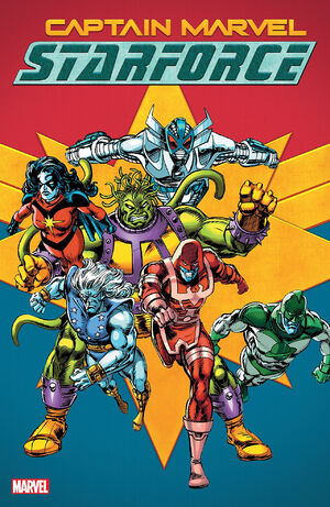 Captain Marvel Starforce TPB Vol 1 1