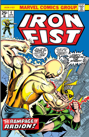Iron Fist Vol 1 4