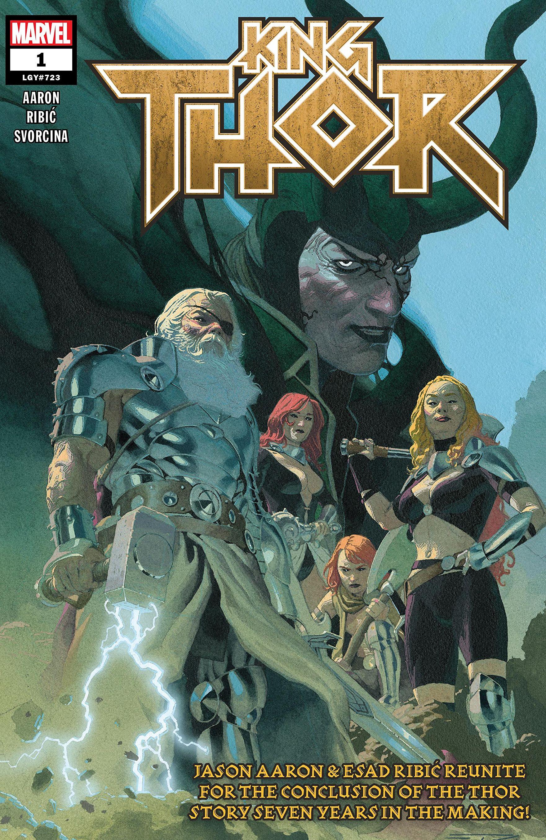Portada de King Thor Volumen 1 #01