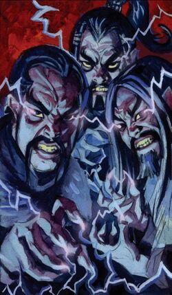 Lightning Lords of Nepal (Earth-616) Immortal Iron Fist Annual Vol 1 1