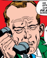Lyndon B. Johnson (Earth-616) from Tales to Astonish Vol 1 88 001