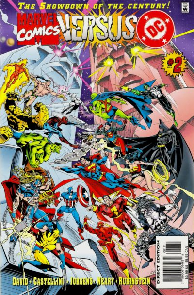 marvel comics vs dc comics