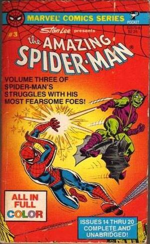 Pocket Book Series Vol 1 Amazing Spider-Man 3