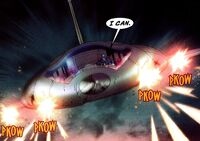 Quinjet from New Avengers Transformers Vol 1 3 001