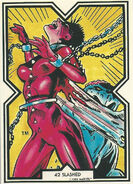 Rachel Summers (Earth-811) from Excalibur Trading Cards 0003