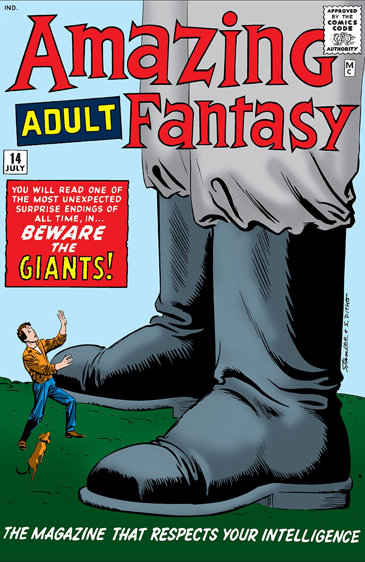 Image result for amazing fantasy 14