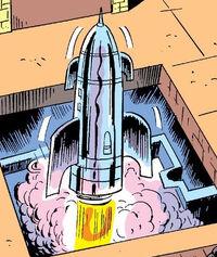 Amphibious Skycraft from Super-Villain Team-Up Vol 1 2