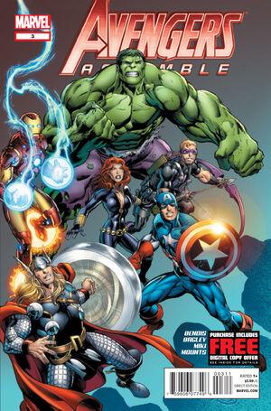 Avengers Assemble Vol 2 3