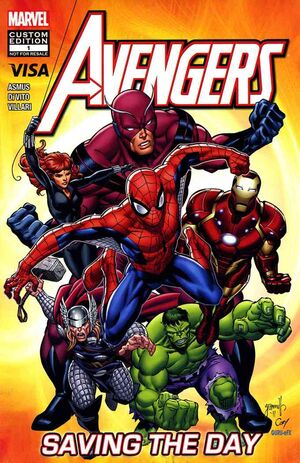 Avengers Saving the Day Vol 1 1