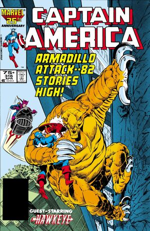 Captain America Vol 1 316