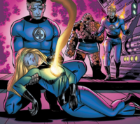 Fantastic Four (Earth-6716) from Fantastic Four A Death in the Family Vol 1 1 002