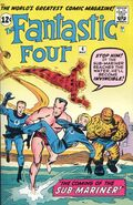 Fantastic Four Vol 1 4 Vintage