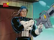 Frank Castle (Earth-92131) robotic duplicate from X-Men The Animated Series Season 2 11 0001