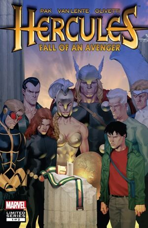 Hercules Fall of an Avenger Vol 1 1