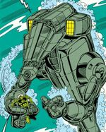 Leviathan (Robot) from Iron Man Vol 1 218 002