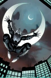 Moon Knight Vol 7 3 Stegman Variant Textless