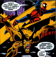 Peter Parker (Earth-TRN583) and Edwin Jones (Counter-Earth) (Earth-TRN583) from Spider-Man Unlimited Vol 2 5 001