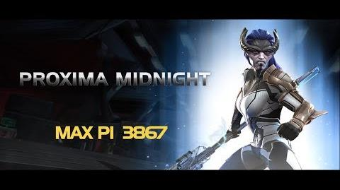 Proxima Midnight Special Moves Marvel Contest of Champions