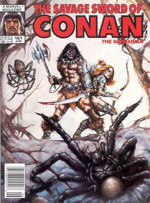 Savage Sword of Conan Vol 1 161
