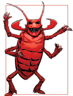 Scarlet Beetle (Earth-616) from Avengers Roll Call Vol 1 1 0001