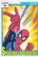 Spider-Man's Web Shooters (Earth-616) from Marvel Universe Cards Series II 0001