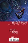 Spider-Man Vol 2 3 Civil War Variant
