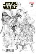 Star Wars The Force Awakens Adaptation Vol 1 2 Sketch Variant