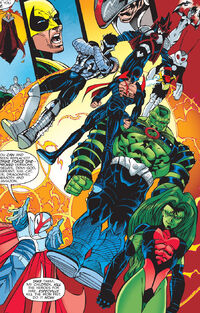 Strikeforce One (Earth-616) from Heroes for Hire Vol 1 12 001