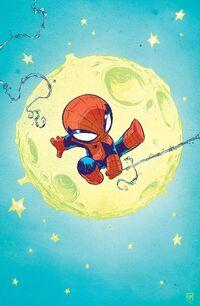 Superior Spider-Man Vol 1 1 Baby Variant Textless