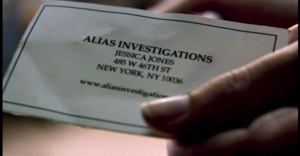 Alias Investigations (Earth-199999) from Marvel's Jessica Jones 001