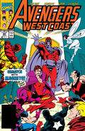 Avengers West Coast Vol 1 60