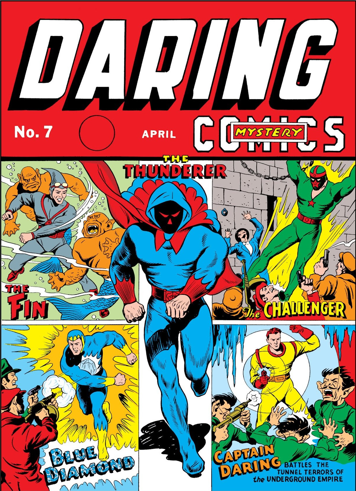 Daring Mystery Comics Vol 1 7