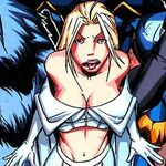 Emma Frost (Earth-50810) in Mega Morphs Vol 1 1 001