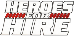 Heroes for Hire Vol 3 Logo