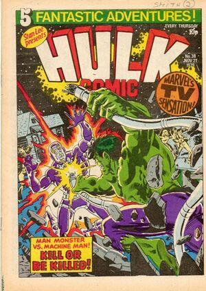 Hulk Comic (UK) Vol 1 38