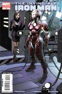 Invincible Iron Man Vol 2 10 Second Printing Variant