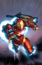 Invincible Iron Man Vol 3 2 Textless