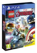 LEGO Marvel's Avengers box art and Iron Man Armor MK XXXIII (Earth-199999)