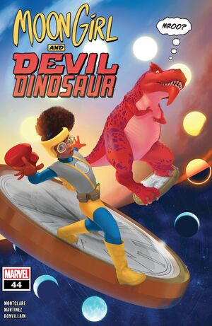 Moon Girl and Devil Dinosaur Vol 1 44