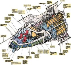 Quinjet from Official Handbook of the Marvel Universe Vol 2 1 002